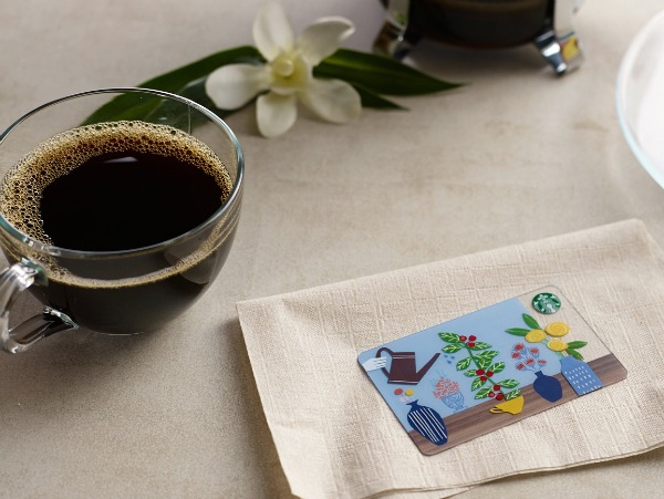 Starbucks Spring 2015 Card