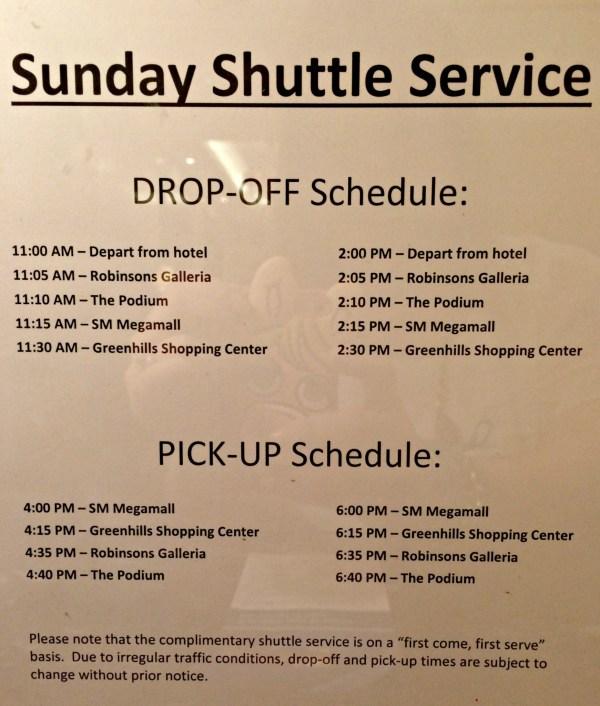 oakwood-premier-manila-shuttle-service