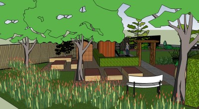 veg and meadow area