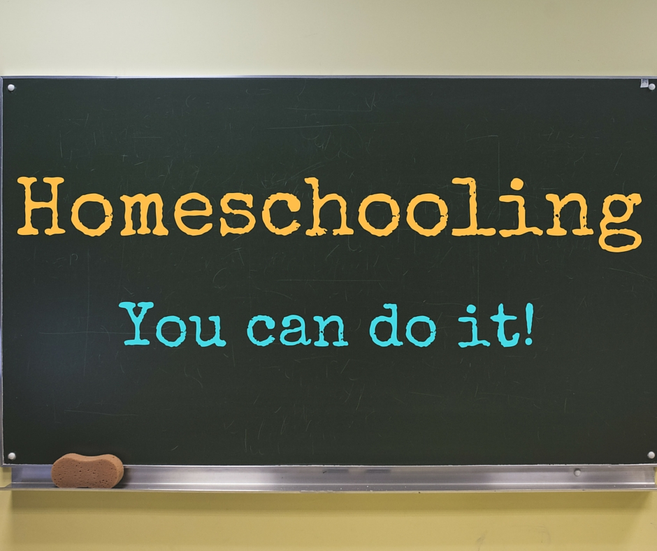 Homeschooling...You can do it!