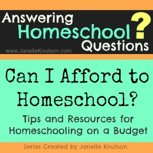Can I afford to homeschool Tips and resources for homeschooling on a budget