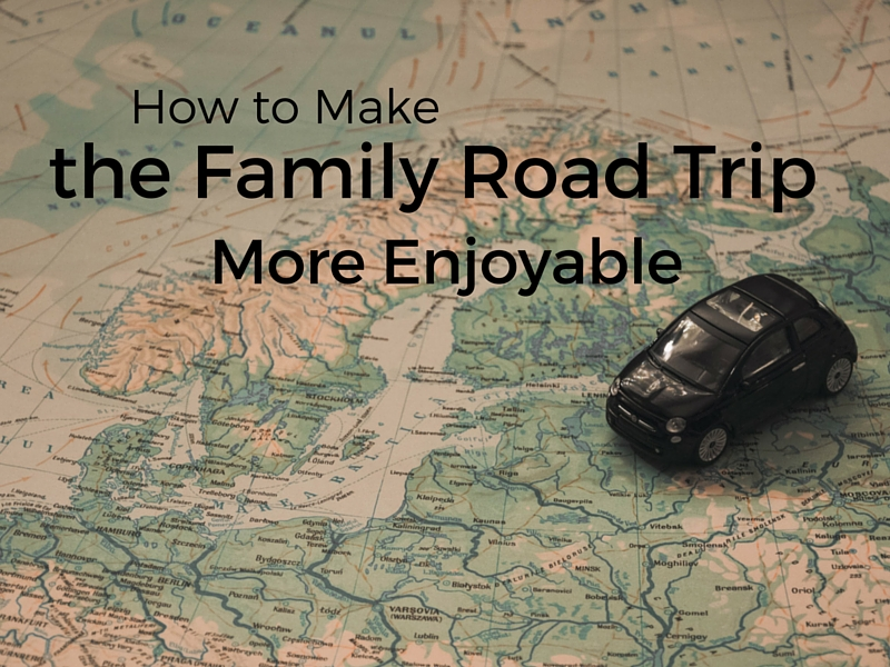Check out these great ideas for making a family road trip more enjoyable for the kids and the parents! A mom of seven shares her sanity saving tips!
