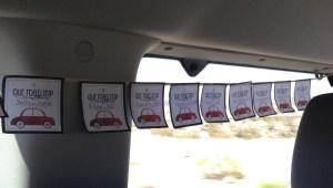 road trip countdown banner