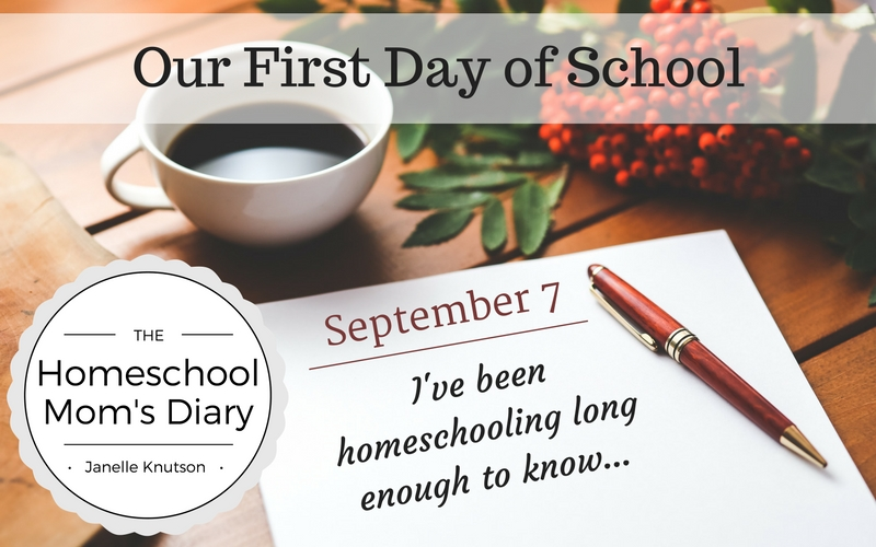 """""""I've been homeschooling long enough to know..."""" The Homeschool Mom's Diary"""