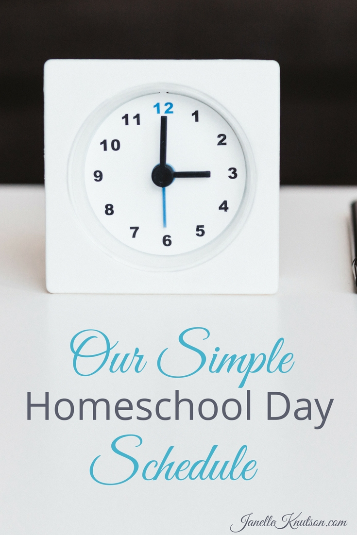 Learn how one homeschool mom (with 7 kids) has used simple routines, strict schedules and now a simple schedule to manage her family's homeschool days.