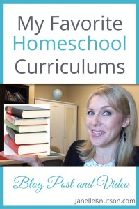 My Favorite Homeschool Curriculums