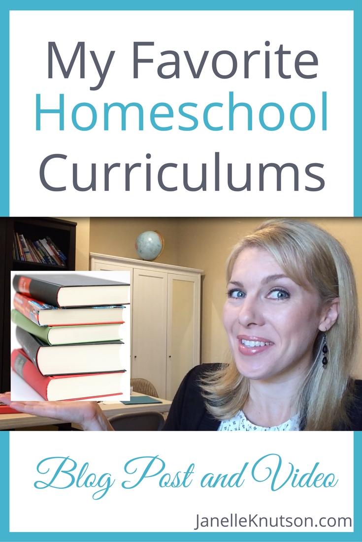 A veteran homeschool mom of seven shares her favorite homeschool curriculums.