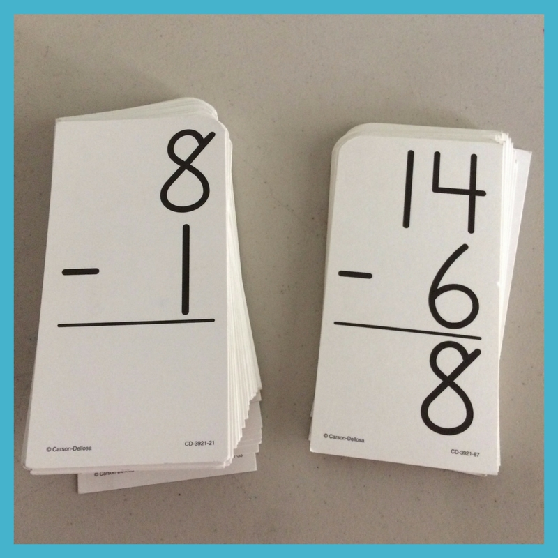 Remember to practice math facts outside of the regular Math-U-See lesson.