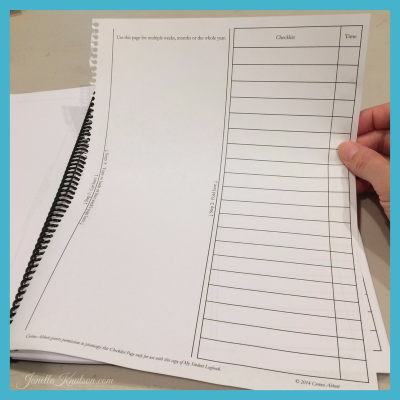 Setting up My Student Logbook