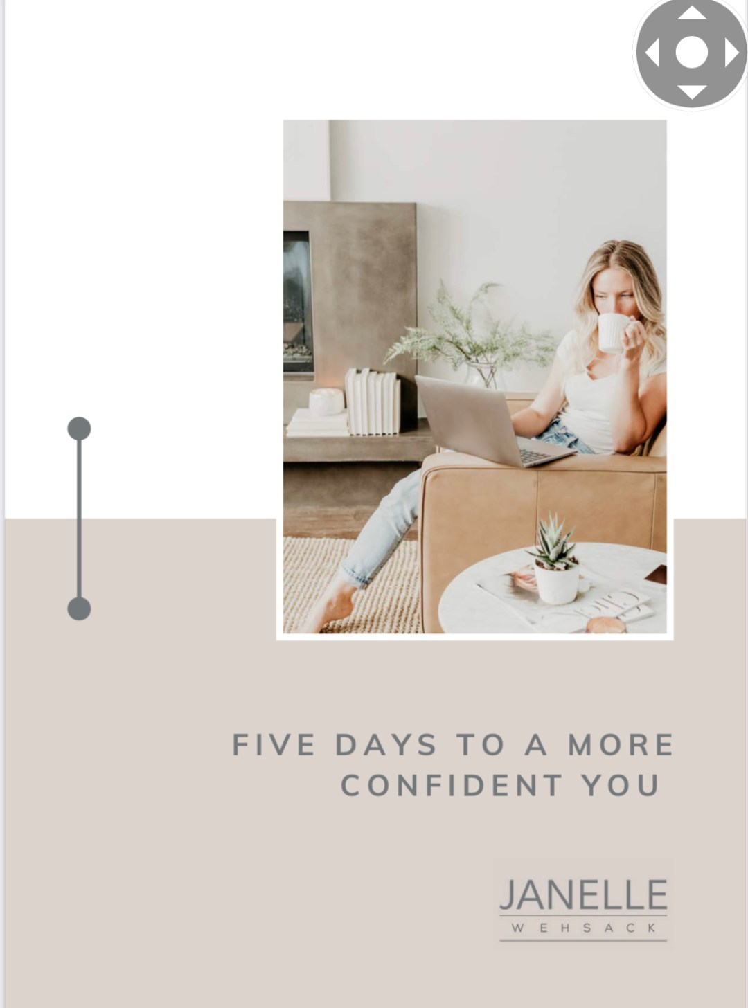 Get your free workbook - Five days to a more confident you