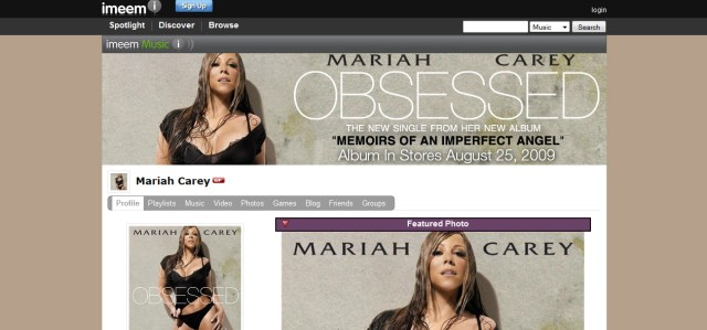 Mariah Carey entertainment design graphics