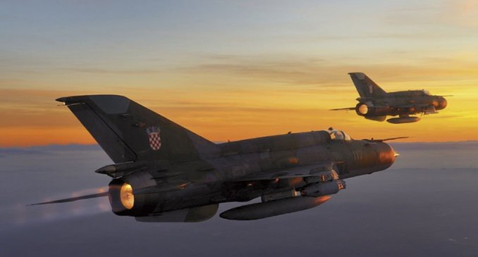 With the best and final bids now submitted, Croatia will begin the state-level decision making process for its MiG-21 replacement process in 2021. (Croatian Ministry of Defence)