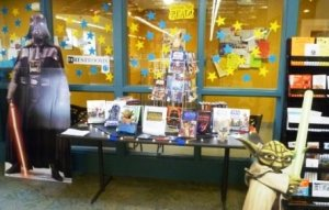 star wars library display