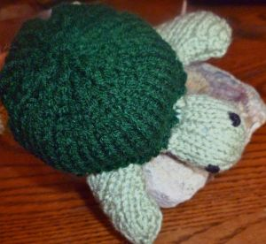 knitted turtle