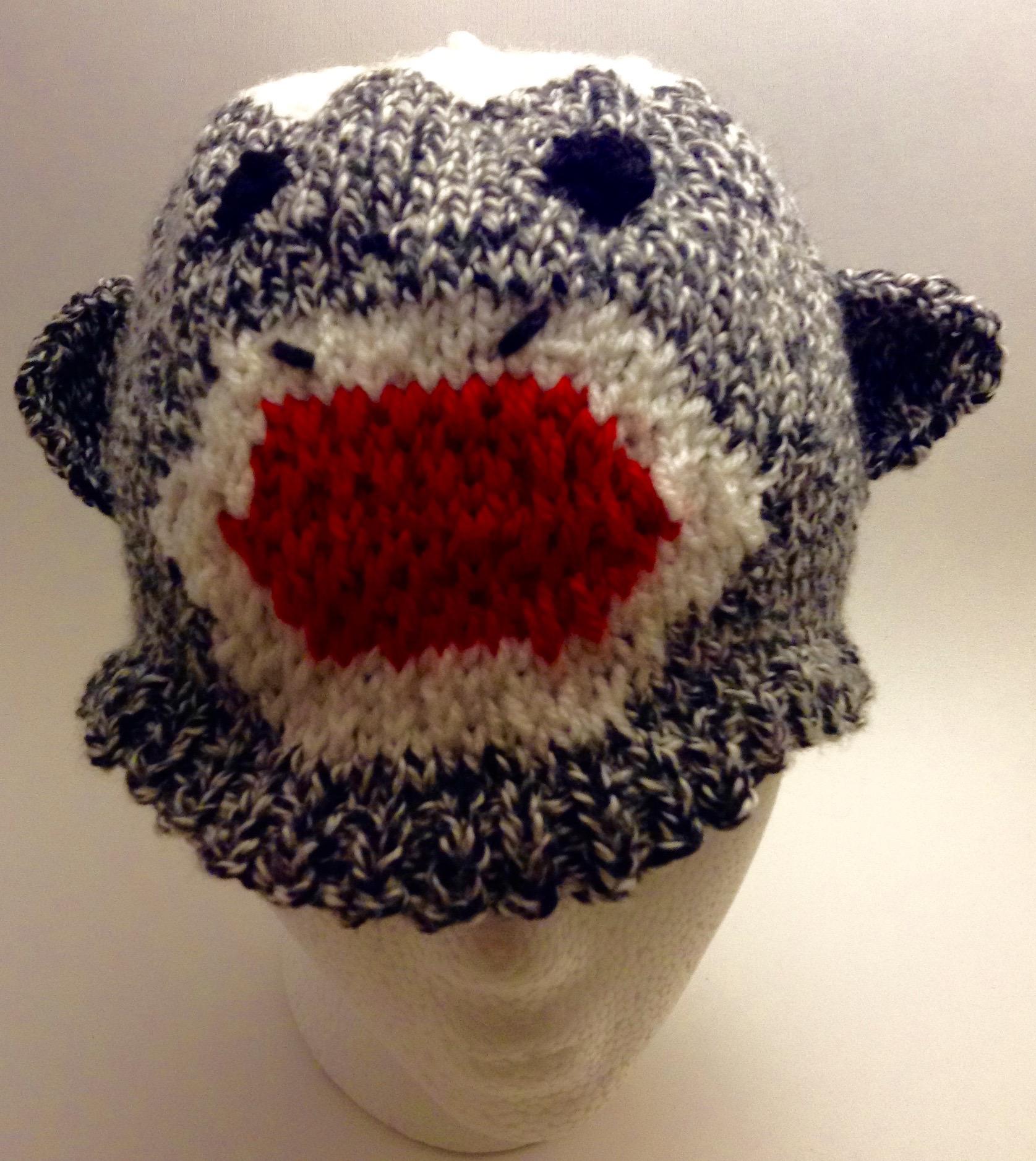 Sock Monkey Hat knitting pattern | Jane\'s Folly