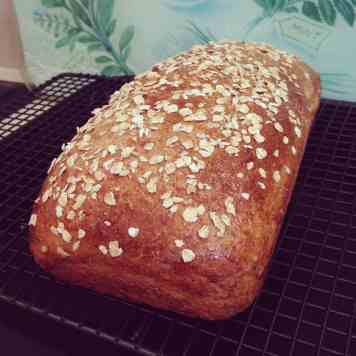 Honey & Oat Bread!