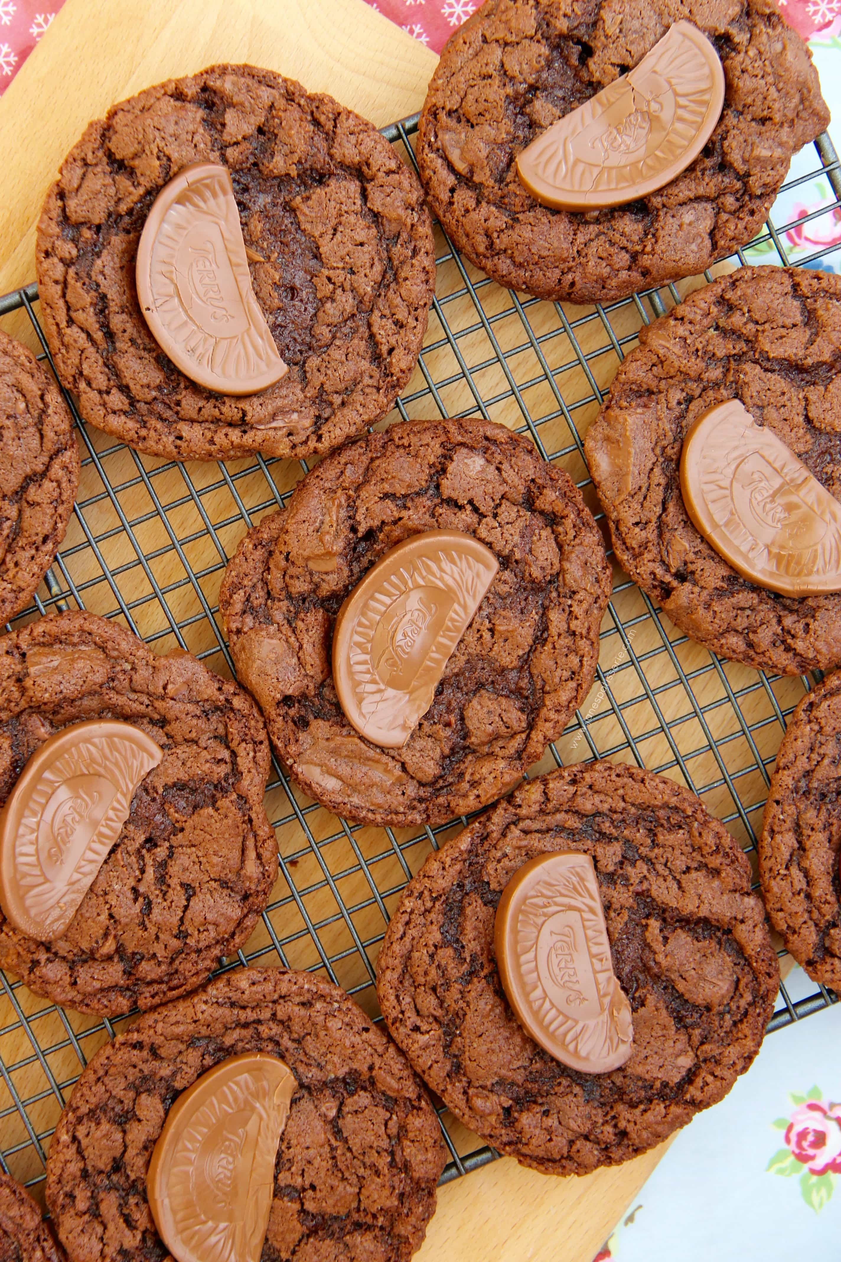 Terry's Chocolate Orange Cookies! - Jane's Patisserie