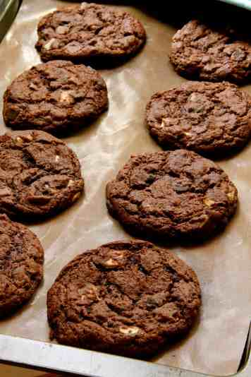 Triple Chocolate Cookies!