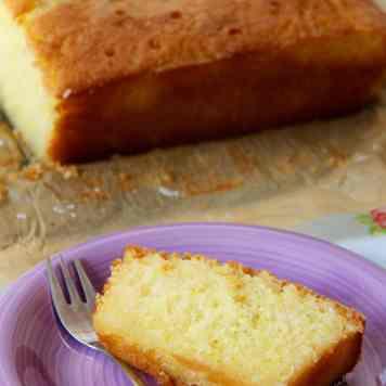 Lemon & Lime Drizzle Cake