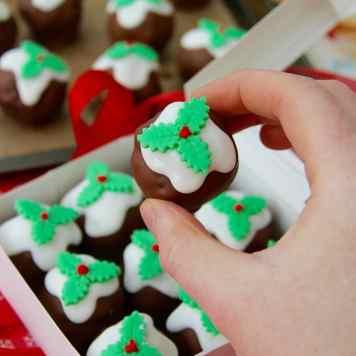 Christmas Pudding Truffles