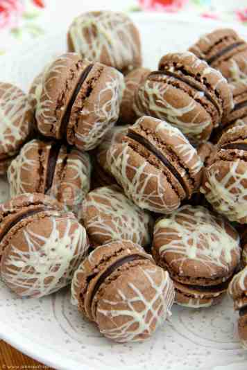Triple Chocolate Macarons!