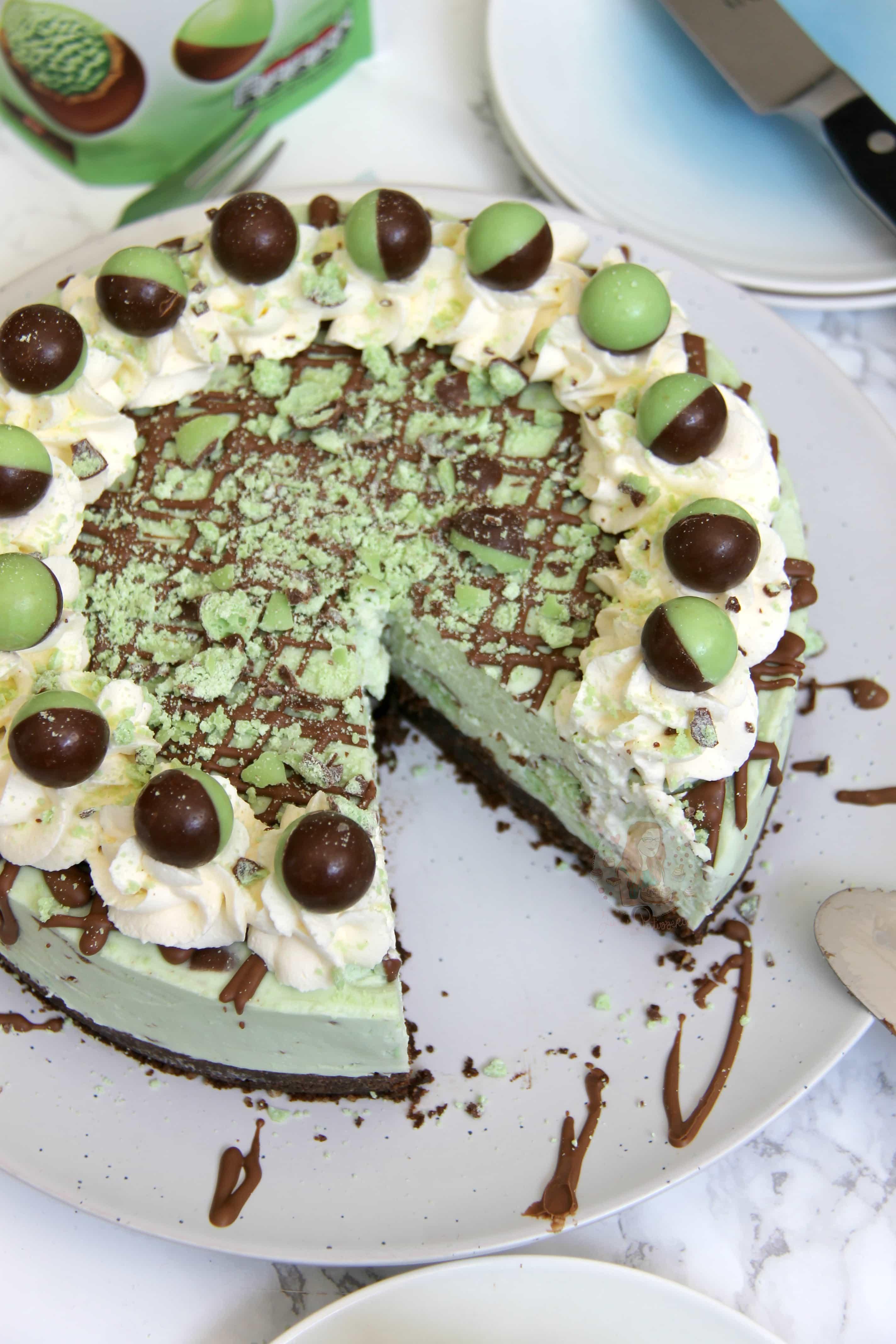 Paula Deen Chocolate Mint Cheesecake