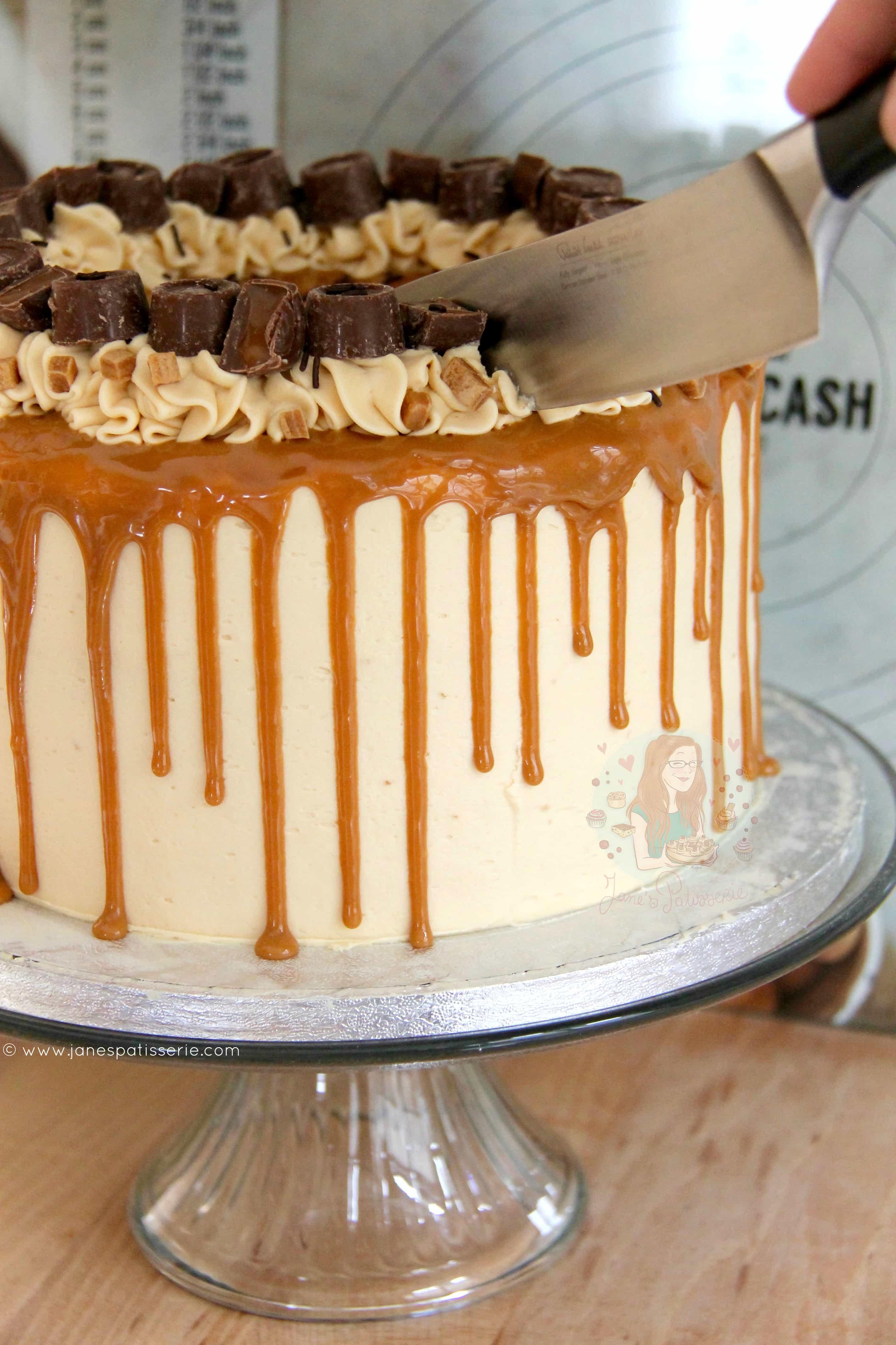 Salted Caramel Drip Cake Jane S Patisserie