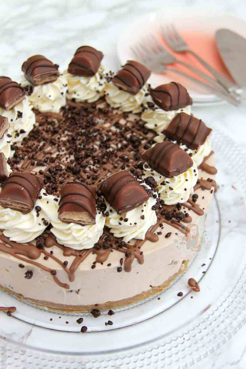 No-Bake Kinder Bueno Cheesecake!