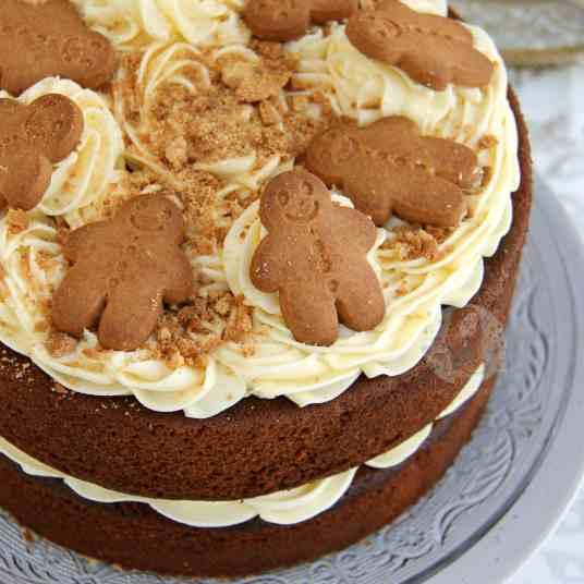 Gingerbread Cake!