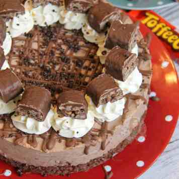 Toffee Crisp Cheesecake