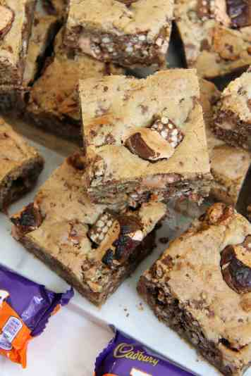 Double Decker Cookie Bars