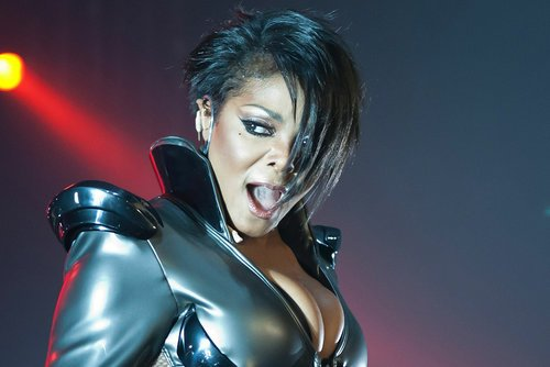 Janet Jackson performs on her Number Ones Tour