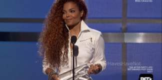 Janet Jackson at BET Awards 2015