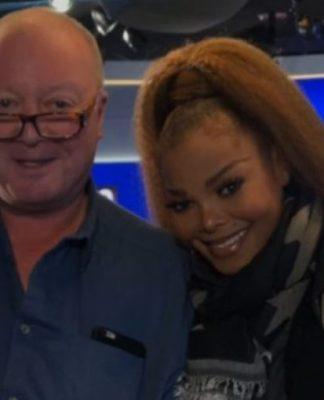 Janet Jackson and Steve Allen from LBC
