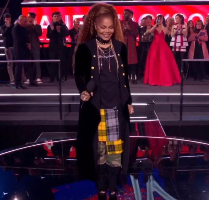 Janet Jackson at MTV EMAs 2018 in Bilbao
