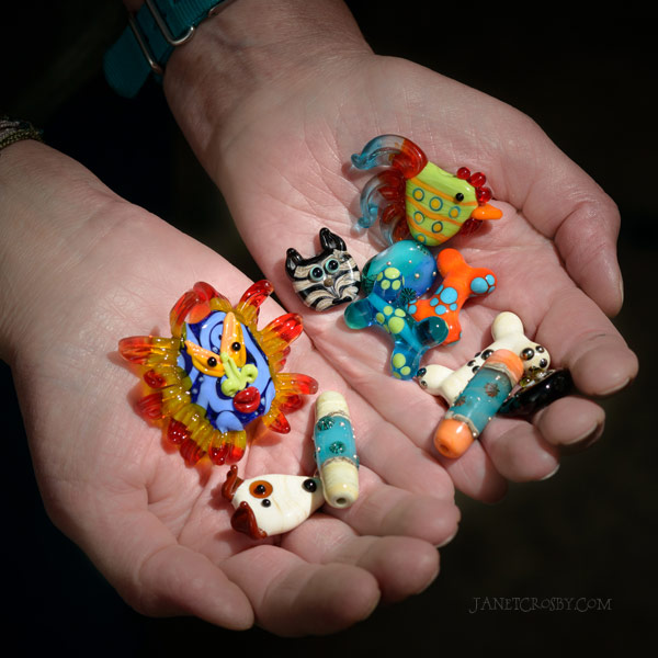 Some of my favorite beads to make - janetcrosby.com