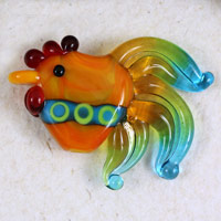 Rainbow Rooster - janetcrosby.com