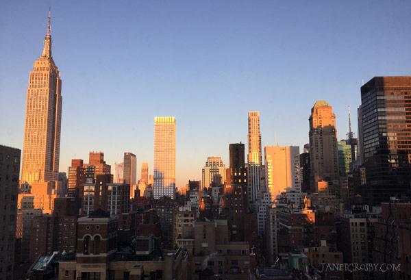 NYC Skyline - Janet Crosby