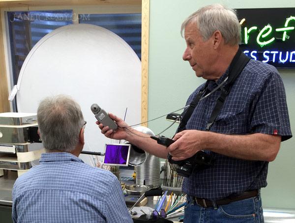 Creative Life Spokane - light metering