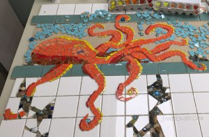 Octopus Mosaic - JanetCrosby.com