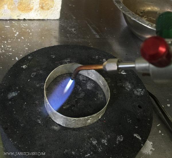 Soldering my bracelet