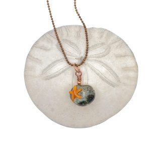 Tidepool Pendant Necklace by Janet Crosby