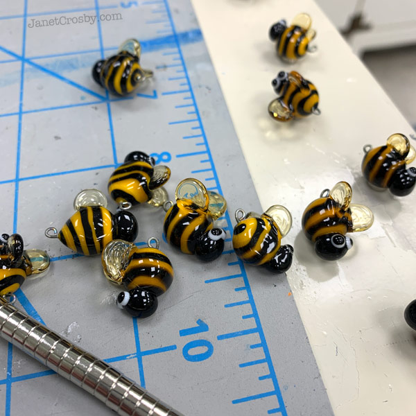 Making bees by Janet Crosby