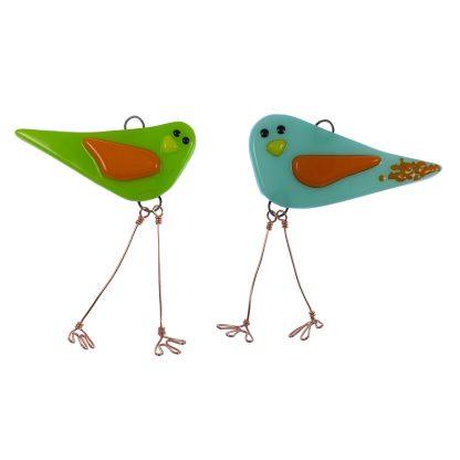 2 Mini Birds by Janet Crosby