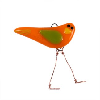 Fresh Squeezed - Mini Bird by Janet Crosby
