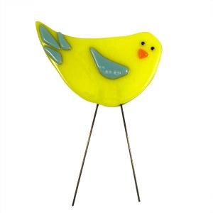 Garden Bird - Sunny Day by Janet Crosby