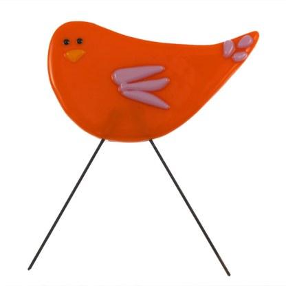 Garden Bird - Opheila by Janet Crosby