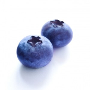 2 blueberries
