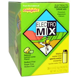 a green box of electrolytes