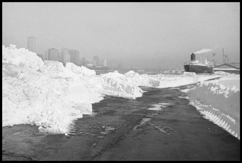 After the Blizzard, Pier 12, 1982